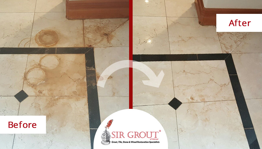 How to clean water stains on marble floor thecarpets co for How to clean floor stains